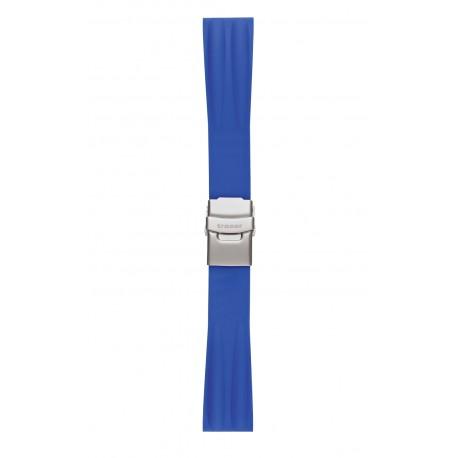 Traser® H3 silikoninis laikrodžio dirželis su fiksatoriumi, 22 mm