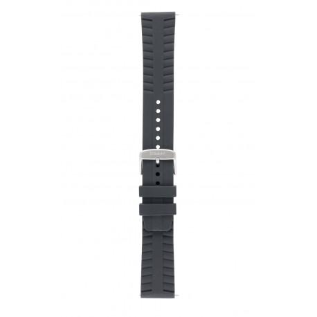 Traser® H3 silikoninis laikrodžio dirželis su sagtele, 22 mm