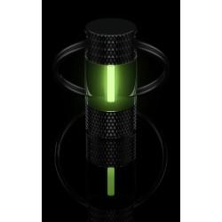 Traser® H3 Raktų pakabukas su tričio dujomis,  Žalias