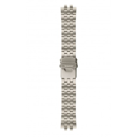Traser® H3 Aviator titanium watch strap, 18 mm