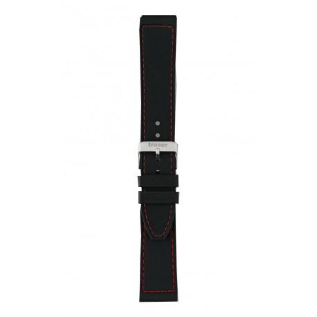 Traser® Red Combat laikrodžio apyrankė, kaučiukas 20-22 mm