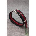 Traser® H3 NATO watch strap, BLACK-RED