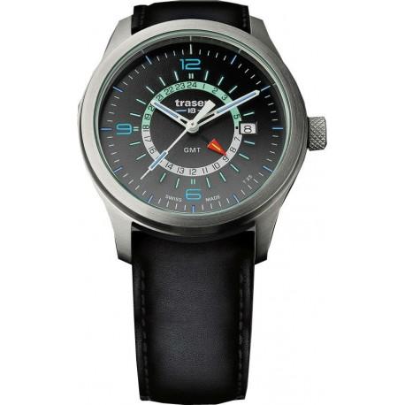 Traser® P59 Aurora GMT Silver