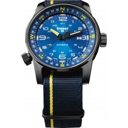 Traser® P68 Pathfinder Automatic Blue, NATO blue-yellow