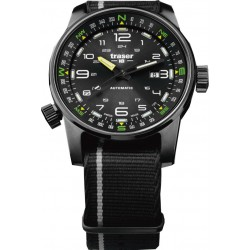 Traser® P68 Pathfinder Automatic Black, NATO black-grey