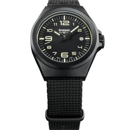 Traser® P59 Essential S Black, PLIENAS/PVD