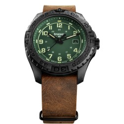 Traser® P96 OdP Evolution Green, LEATHER