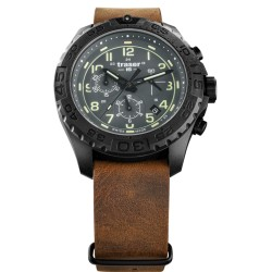Traser® P96 OdP Evolution Chrono Grey, Leather