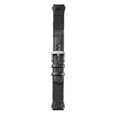 P59 Type 3 leather/textile watch strap, 18 mm