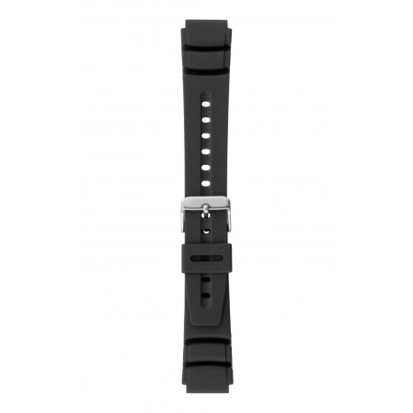 P59 Type 3 rubber watch strap, BLACK