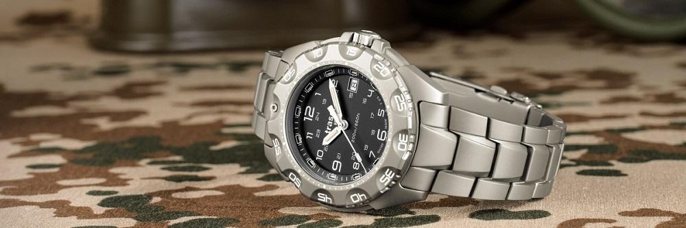 Traser Titanium watch