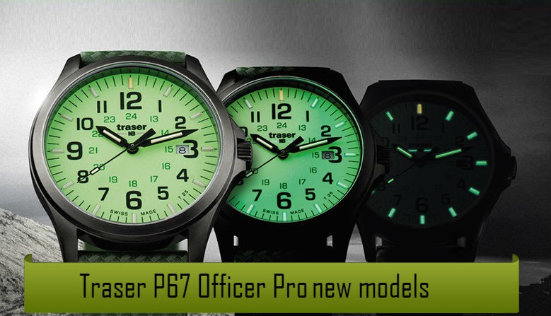 Traser® P67 Officer Pro new models