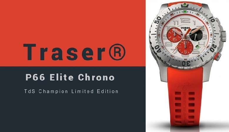 Traser® P66 Elite Chrono TdS Champion Limited Edition