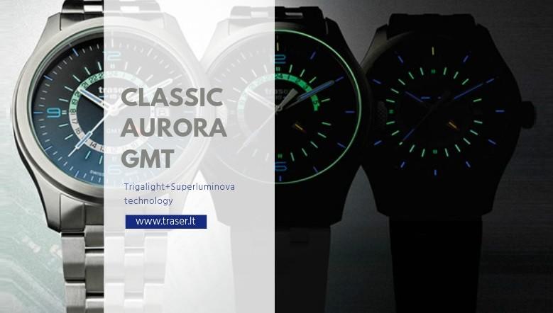 Traser® H3 Aurora GMT
