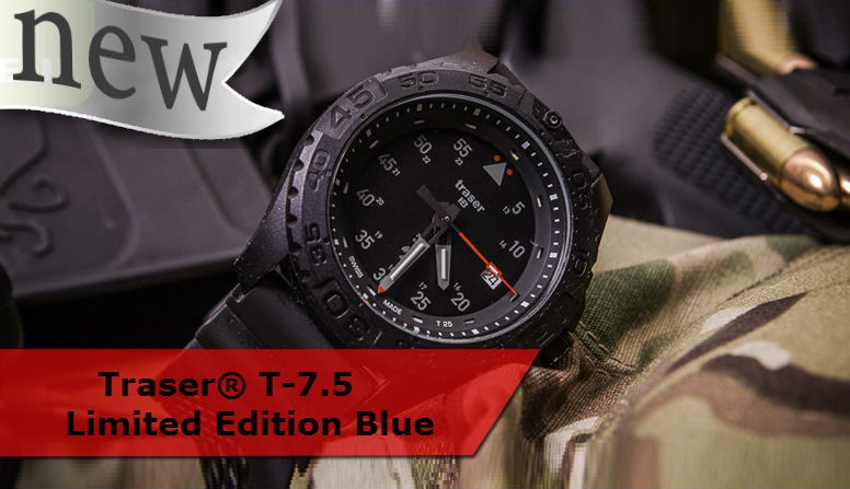 Traser® T-7.5 Limited Edition Blue