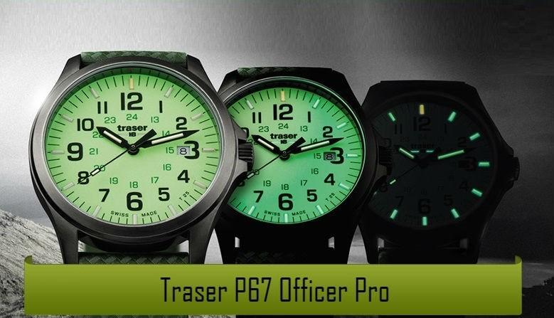 Traser® P67 Officer Pro naujieji modeliai