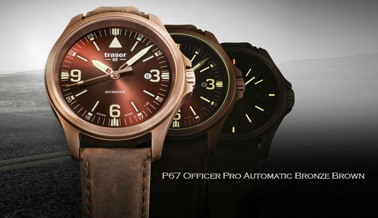 P67 Officer Pro Automatic Bronze