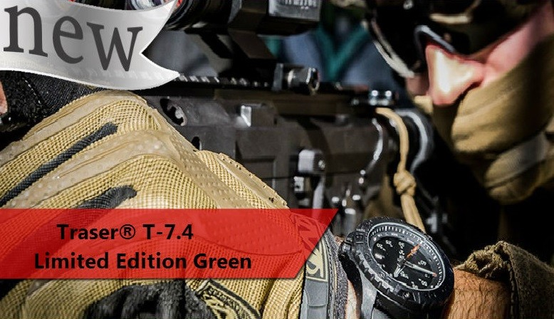 Traser® T-7.4 Limited Edition Green