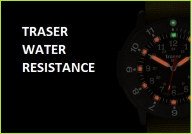 Traser water resistance