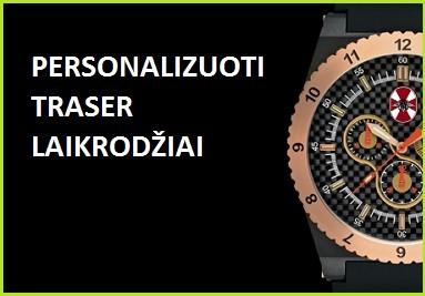 Traser personalizuoti laikrodžiai